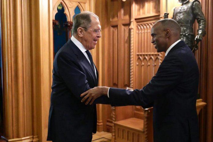 المرشح الرئاسي حسن علي خيري يلتقي وزير الخارجية الروسي