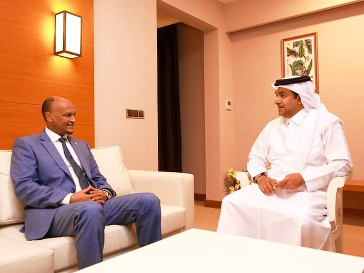 Deputy PM meets with Qatar Special Envoy in Mogadishu